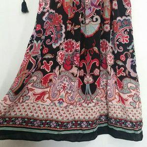Free People Dresses - Free People Dress Peasant Boho Mid Length Small
